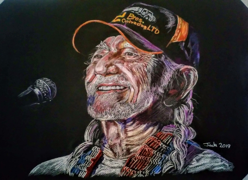Willie Nelson by jockyp